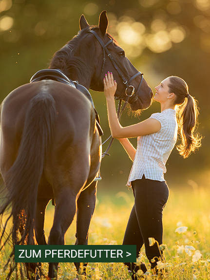 Zum Pferdefutter