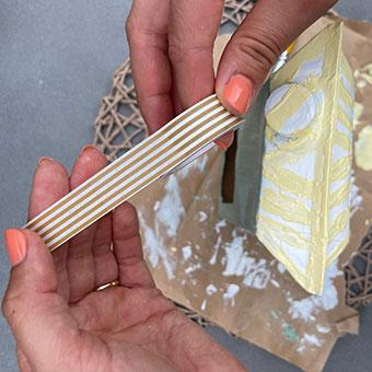 DiY Vogelhaus: Milchtüte verzieren
